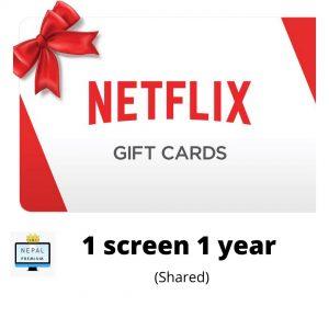 Netflix 1 year 1 screen Ultra HD