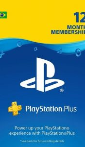 Buy Playstation plus 1 year brazil from premium nepal